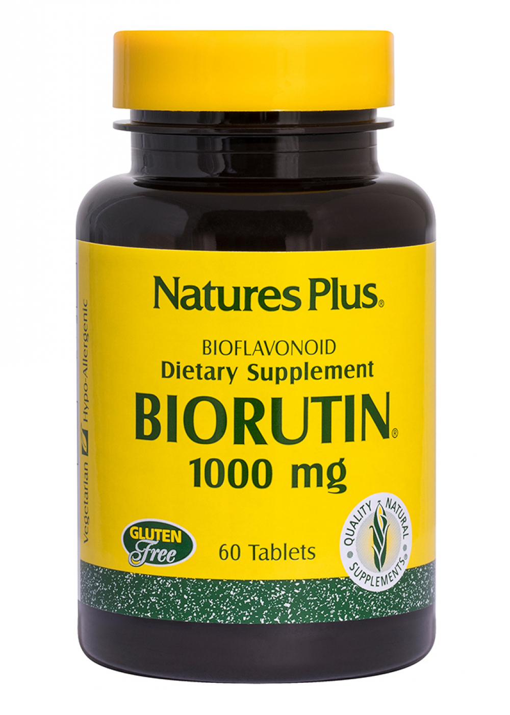 Natures Plus Biorutin 1000mg 60 Tabletten (86,8g)