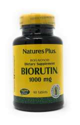 Natures Plus Biorutin 1000mg 90 Tabletten (130,1g)