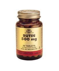 Solgar Rutin 500mg 50 Tabletten (vegan)