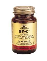 Hy-C (600 MG (vegan) Vitamin C + Bioflavonoide) 100 Tabl. SO (vegan)