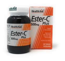 Health Aid Ester-C 500mg Plus 60 Tabletten (vegan)