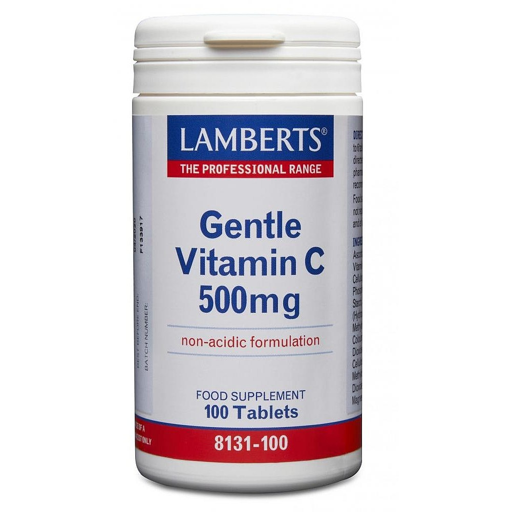 Lamberts Healthcare Gentle Vitamin C 500mg 100 Tabletten