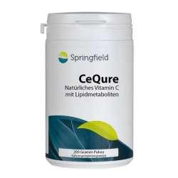 Springfield CeQure natürliches Vitamin C mit Lipidmetaboliten 500mg 200g Pulver