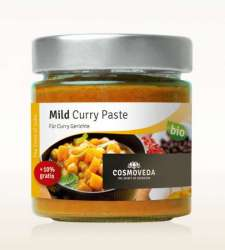 Cosmoveda BIO Mild Curry Paste 175g