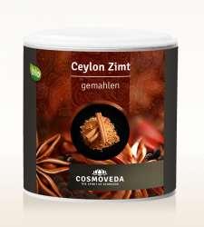 Cosmoveda BIO Ceylon Zimt gemahlen Zimtpulver 80g Dose
