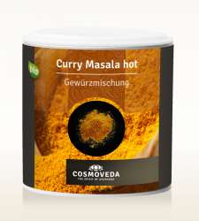 Cosmoveda BIO Curry Masala Hot/scharf  80g Dose