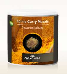 Cosmoveda BIO Korma Curry Masala 80g Dose
