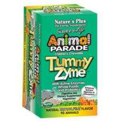 Natures Plus Animal Parade® Tummy Zyme 90 Lutschtabletten