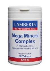 Lamberts Healthcare Ltd. Mega Mineral Complex 90 Tabletten (vegan)
