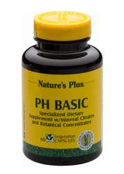 Natures Plus ph Basic 60 veg. Kapseln