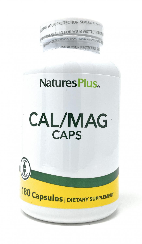 Natures Plus Cal/Mag Caps 180 veg. Kapseln (226,4g)
