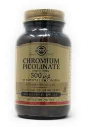 Solgar Chromium Picolinate 500mcg (Chrom) 60 veg. Kapseln (vegan)