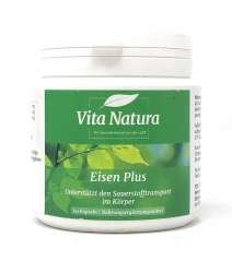 Vita Natura Eisen Plus 60 Kapseln