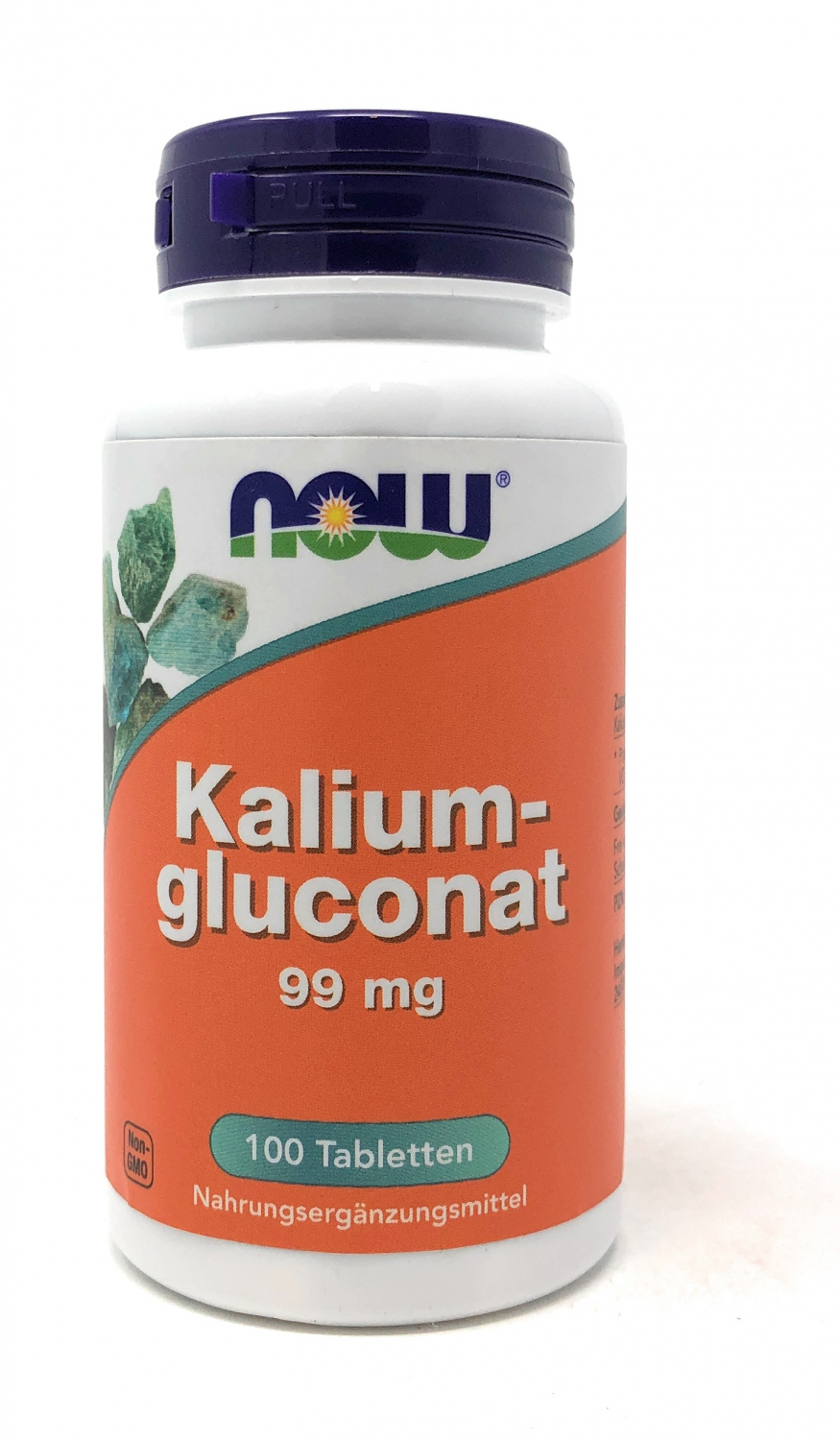 NOW Foods Kaliumglukonat 99mg 100 Tabletten (95g)(vegan)