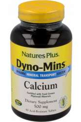 Natures Plus DYNO-MINS® Calcium 500mg 90 Tabletten (197,4g)