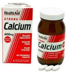 Health Aid Strong Calcium 600mg 60 Kautabletten
