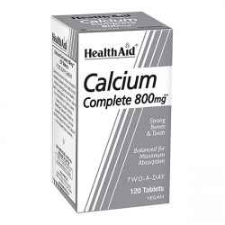 Health Aid Calcium Complete 800 120 Tabletten (vegan)