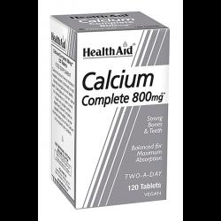 Health Aid Calcium Complete 800mg 120 Tabletten (vegan)