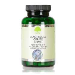 G&G Vitamins Magnesium 110mg (als Mg-Citrat) 90 veg. Kapseln (20,7g) (vegan)