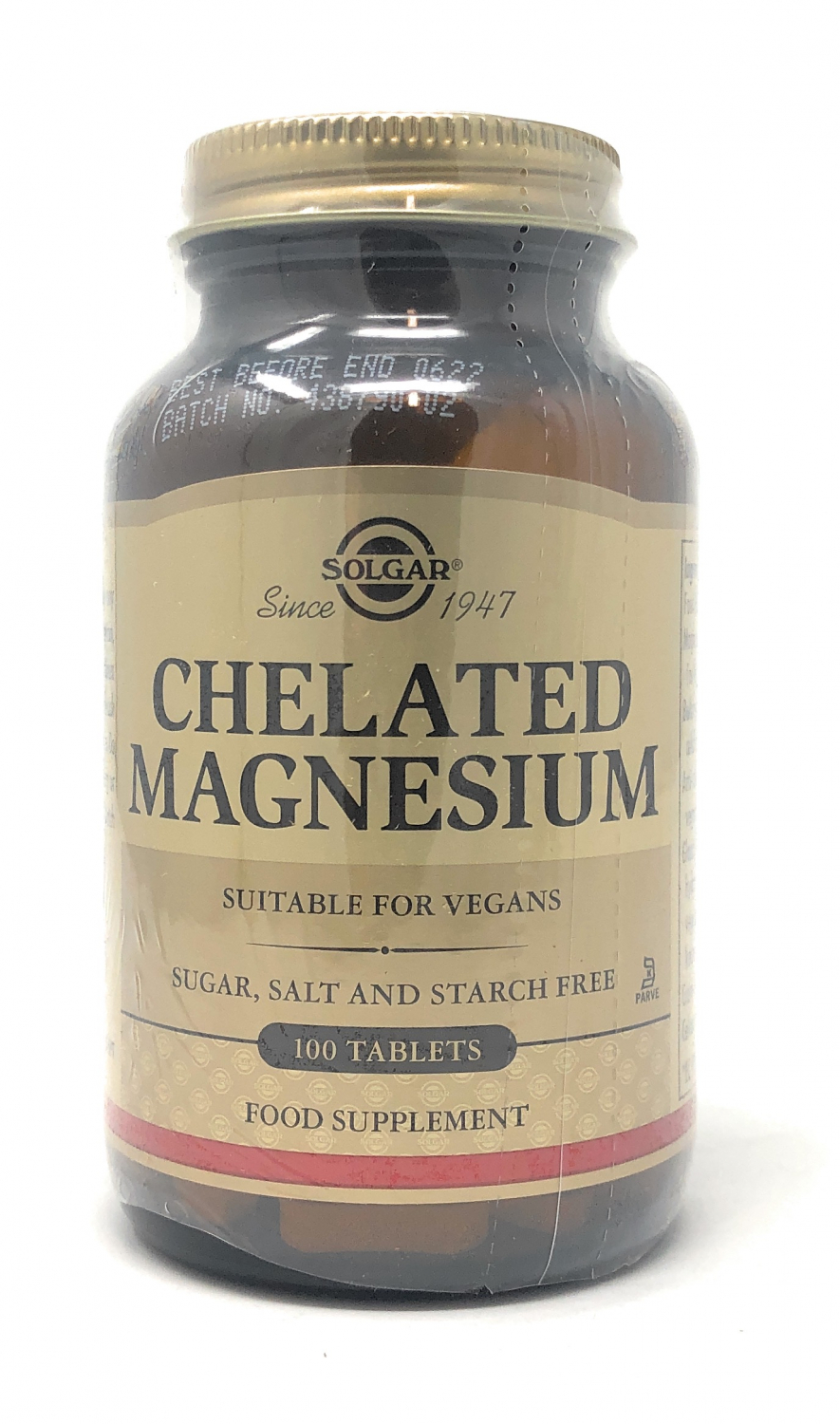 Solgar Chelated Magnesium 100 Tabletten (vegan)