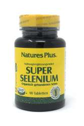 Nature's Plus Super Selenium [200mcg Selen + Vitamin E] 90 Tabletten (68g)