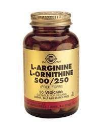 L-Arginine/L-Ornithine 500 / 250 MG (vegan) 50 veg. Kaps. SO (vegan)