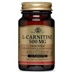 Solgar L-Carnitine 500mg 30 Tabletten (vegan)