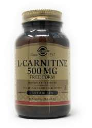 Solgar L-Carnitine 500 mg 60 Tabletten (vegan)