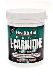 HealthAid L-Carnitine / L-Carnitin Pulver 100g Dose