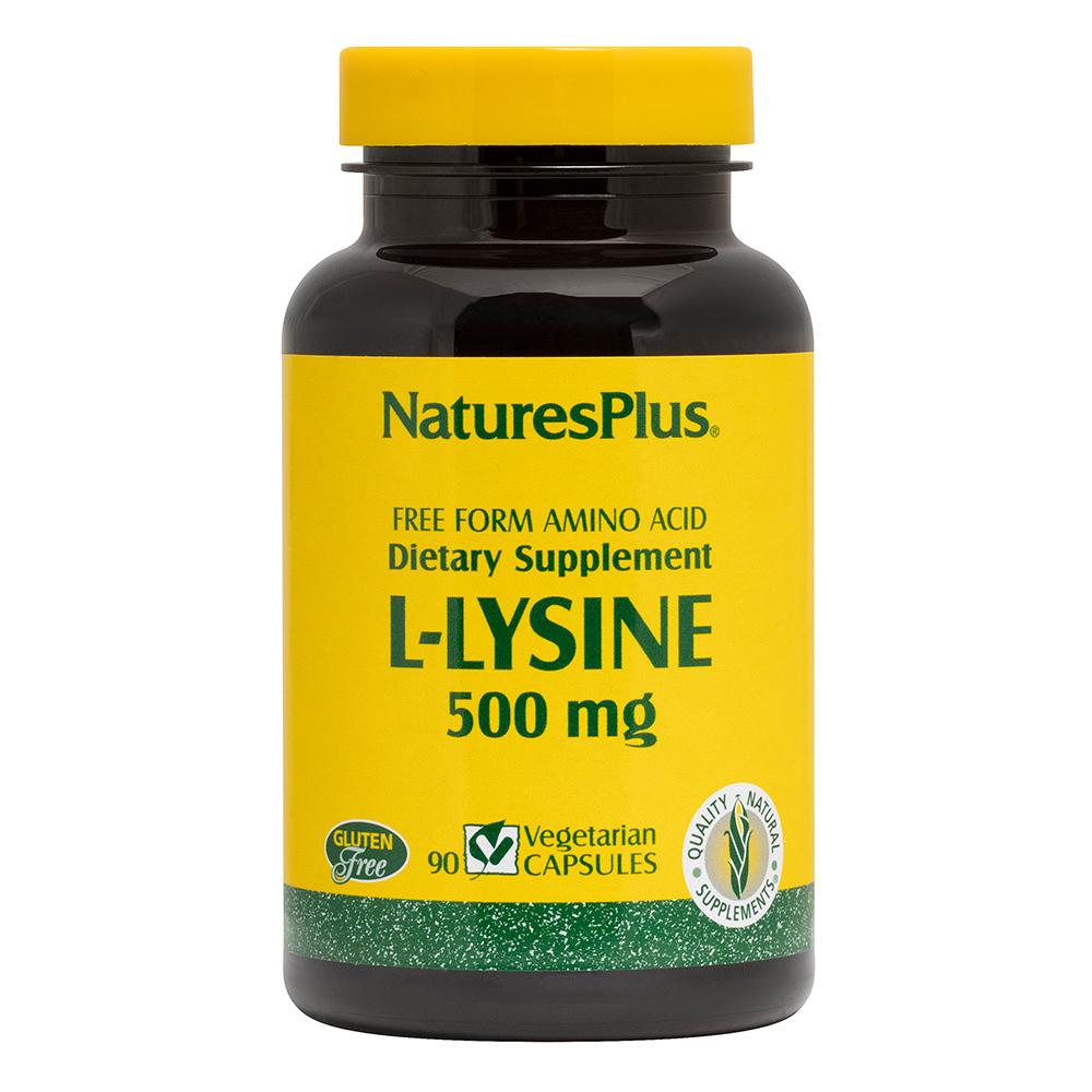 Natures Plus L-Lysine 500 mg 90 veg. Kapseln