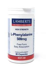 Lamberts Healthcare Ltd. L-Phenylalanin 500 mg 60 Kapseln