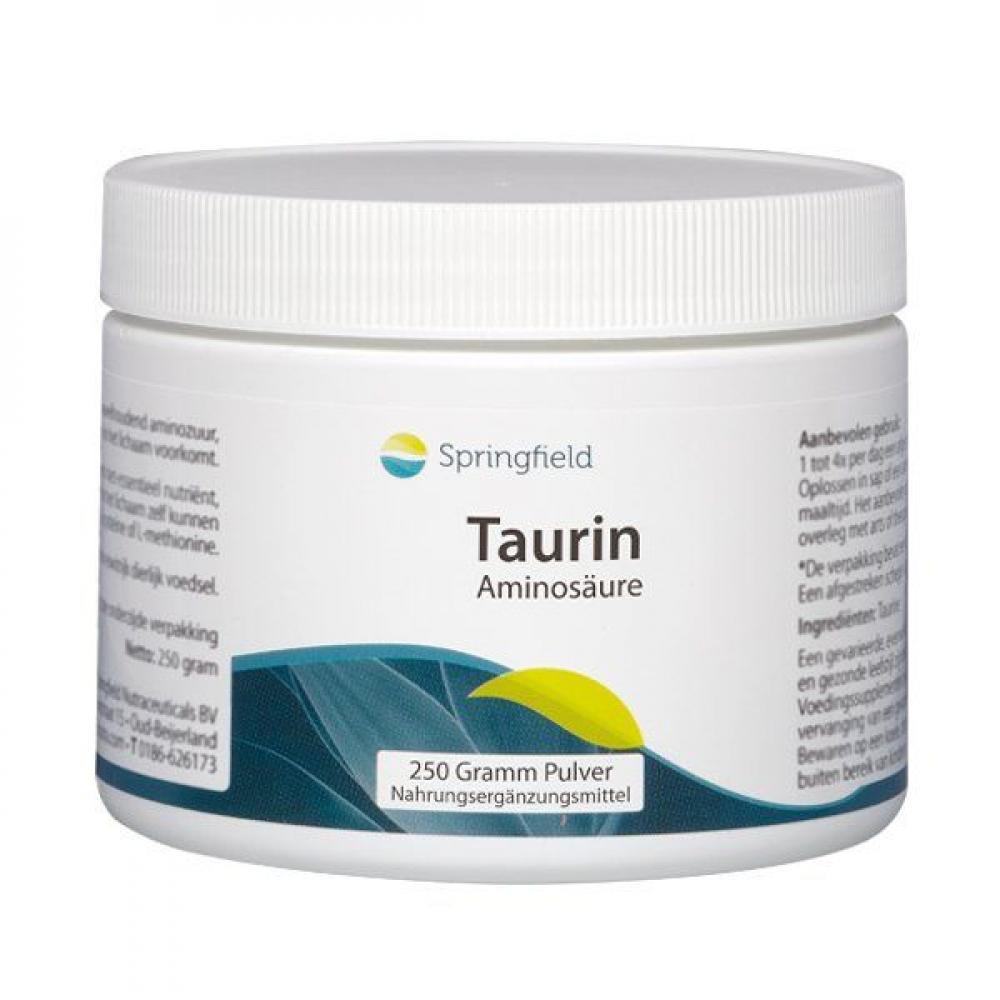 Springfield Taurin Aminosäure 250g Pulver