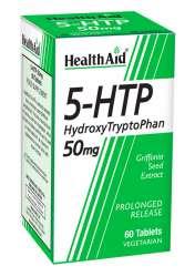 HealthAid 5-Hydroxytryptophan (5-HTP) 50mg S/R (verz. Freisetzung) 60 Tabletten