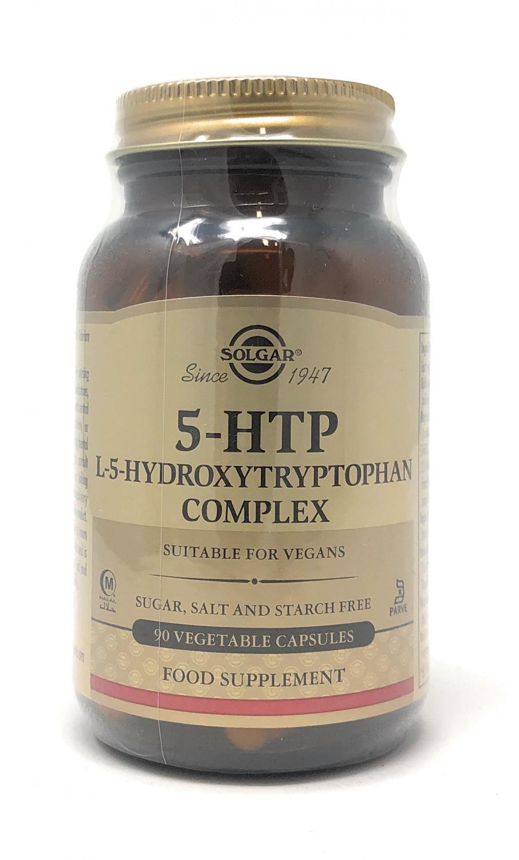 Solgar 5-HTP L-5-Hydroxytryptophan Complex 90 veg. Kapseln