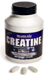 HealthAid Creatine Monohydrate 1000mg 60 Tabletten