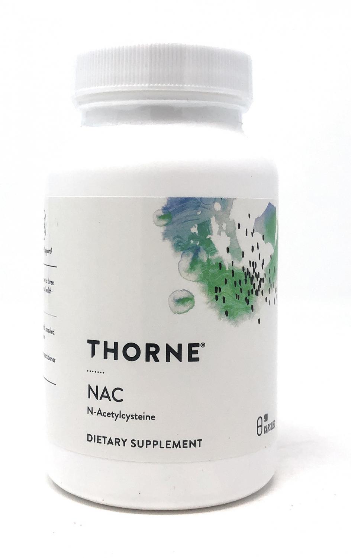 Thorne NAC (N-Acetylcysteine) 90 veg. Kapseln (60g)