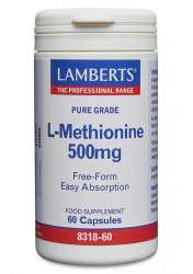 Lamberts Healthcare Ltd. L-Methionine 500mg 60 veg. Kapseln