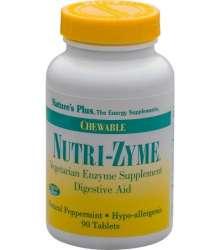 Nutri-Zyme Chewable Digestive Aid  90 veg. Kautabletten NP