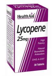 Health Aid Lycopene 25mg 30 Tabletten