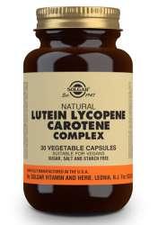 Solgar Lutein Lycopene Carotene Complex 30 veg. Kapseln