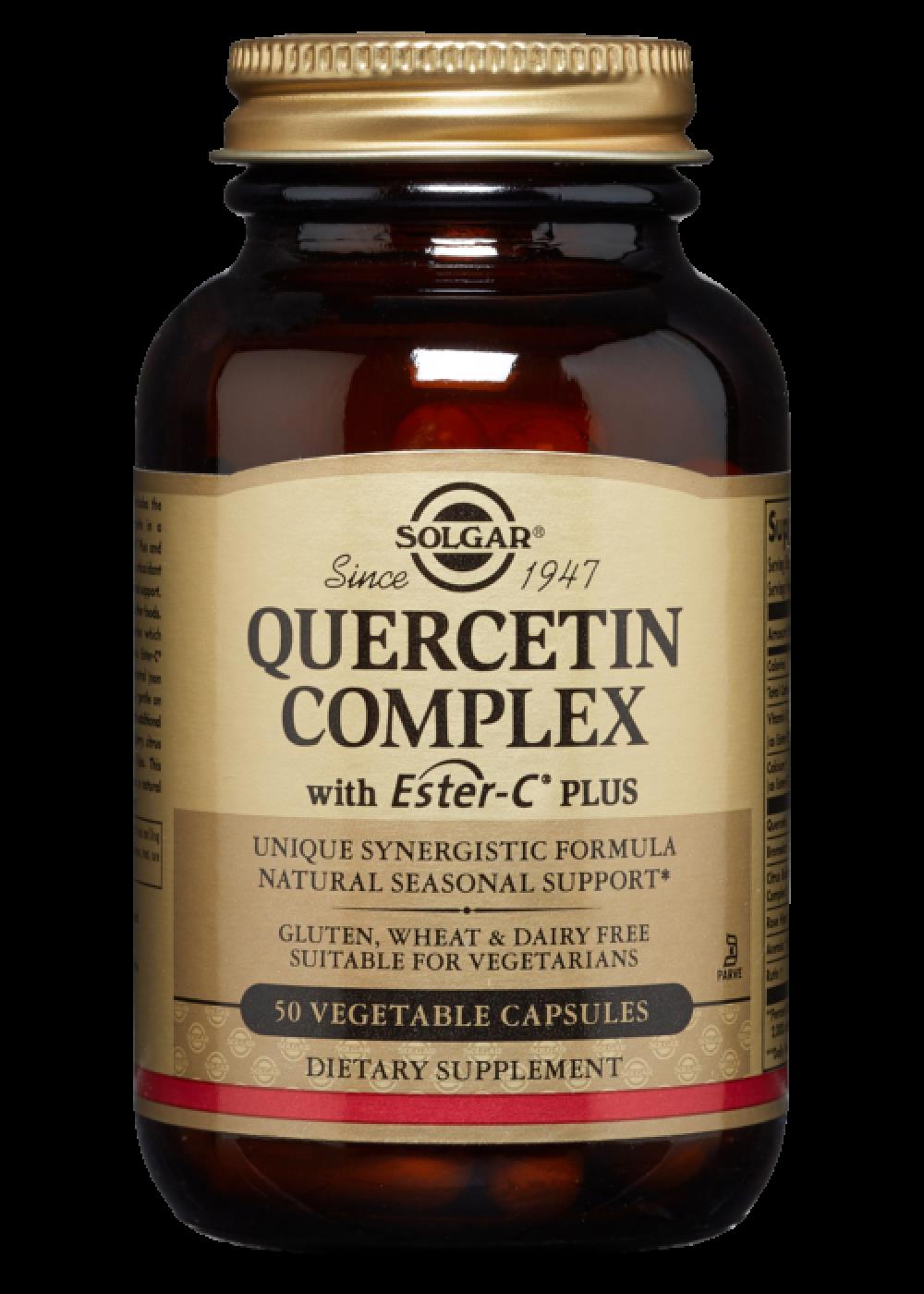 Solgar Quercetin Complex 50 veg. Kapseln (vegan)