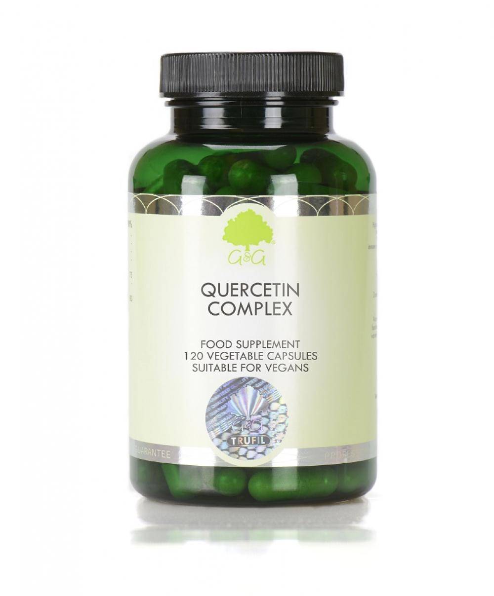 G&G Vitamins Quercetin Complex 120 veg. Kapseln (67,8g) (vegan)