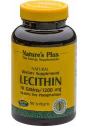 Natures Plus Lecithin 1200 90 Softgels