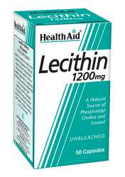 Health Aid Lecithin 1200mg (unbleached) 50 Kapseln