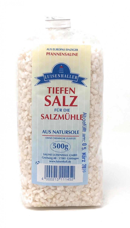 Saline Luisenhall Salzmühlensalz Granulat 2-5mm 500g