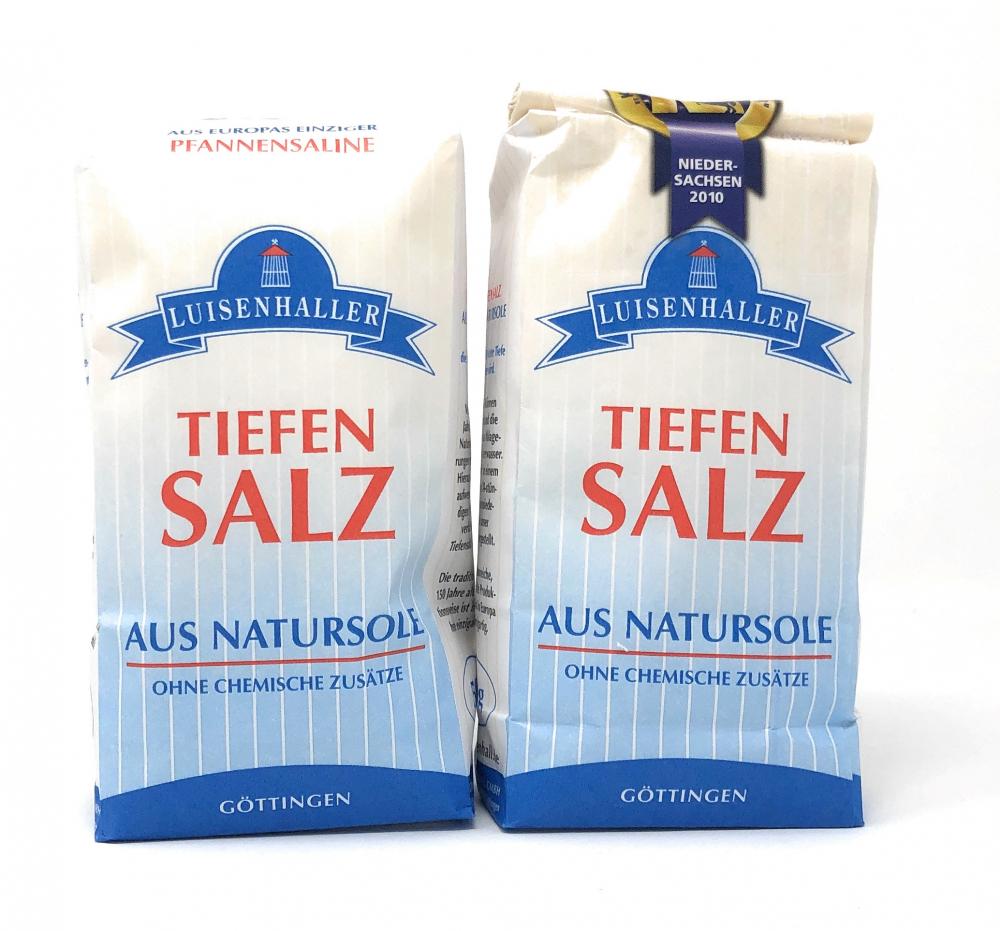 Saline Luisenhall Luisenhaller® Tiefensalz Feinstreu 1-3,15mm Doppelpack 2x500g=1000g