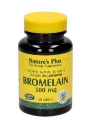 Nature's Plus Bromelain 500mg (600 GDU/gram) 60 Tabletten