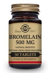 Solgar Bromelain 500mg (2000 GDU/g) 30 Tabletten (vegan)