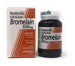 Health Aid Bromelain 500mg 30 veg. Kapseln (vegan)