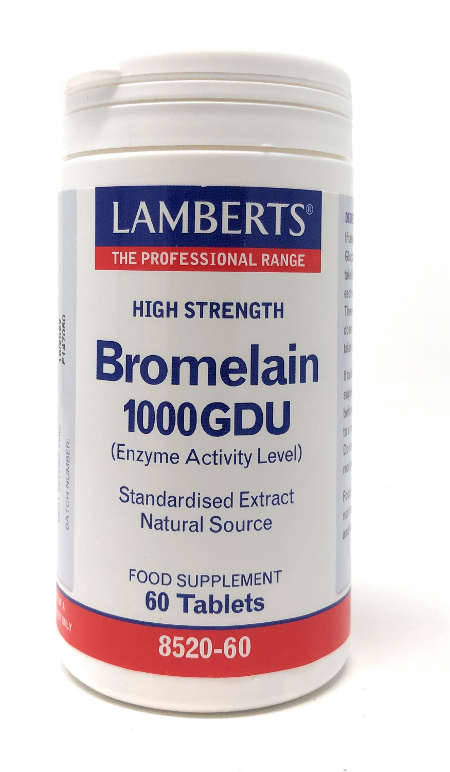 Lamberts Healthcare Ltd. Bromelain 1000 GDU 60 Tabletten